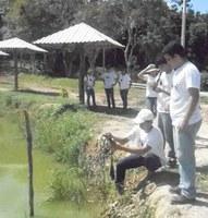 Acquapacita desenvolve ações de extensão rural em comunidades pesqueiras