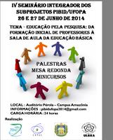 ICED promove IV Seminário do PIBID