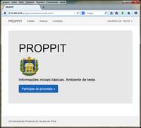 PROPPIT lança Sistema Acadêmico de Apoio à Pesquisa