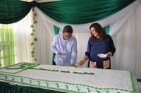 UFOPA 5 anos: corte de bolo celebra aniversário