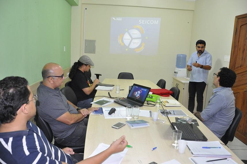 UFOPA discute parceria na área de Economia Criativa com IAP e Seicom