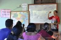 Estudantes e professores participam de cursos de línguas indígenas