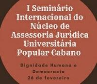 Seminário Internacional na Ufopa debate dignidade humana e democracia