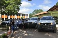 Administração Superior da Ufopa entrega caminhonetes a cinco campi fora da sede